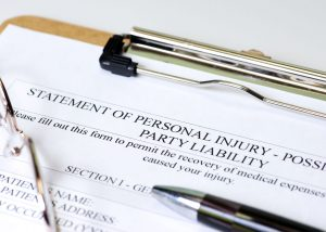 personal injury statement